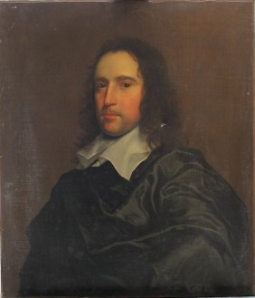 Sir Anthony Van Dyck (1599-1641)-circle, Portrait Of A