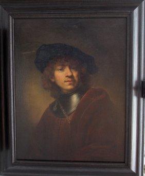 Rembrandt Harmenszoon Van Rijn (1606-1669)-manner Of,