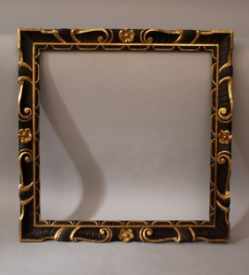 Italian Renaissance Style Frame; Wood Carved With