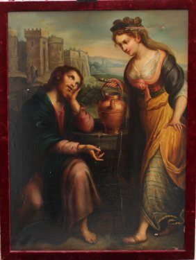 Tuscan School 18th/19th Century, Jesus And The