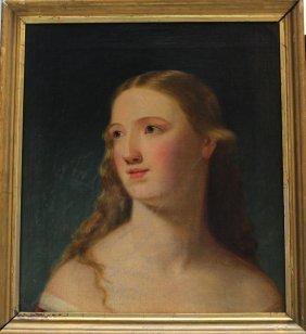 Johann Baptist Reiter (1813-1890)-attributed, Portrait