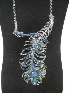 Gorgeous Peacock Necklace