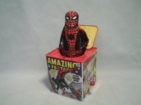 05 Spiderman Schylling Jack In The Box