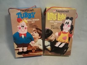 1973 Vintage Little Lulu Tubby Doll Kits MIB