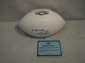 Eagles' Desean Jackson Autographed Football W/COA