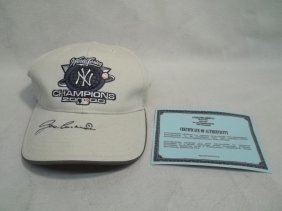 Jose Canseco Autograph Hat With COA