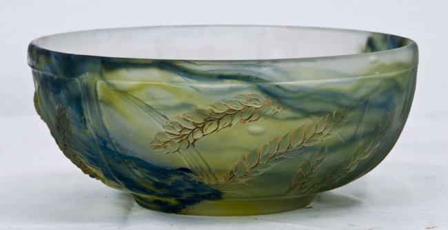 5 daum nancy pate de verre glass bowl lot 5. Black Bedroom Furniture Sets. Home Design Ideas