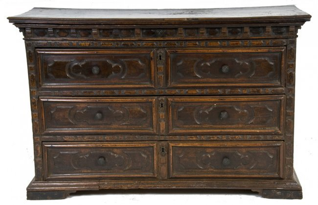 Italian baroque style walnut commode lot 56 - Commode style baroque ...