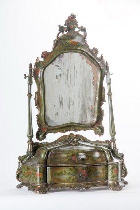Venetian Painted Vanity Mirror