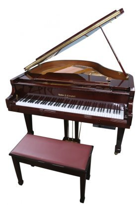 Kohler & Campbell Mahogany Case Grand Piano