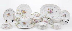 Herend Porcelain Dinner Service