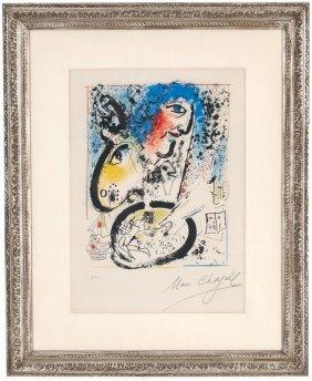 "Marc Chagall: ""self-portrait"""