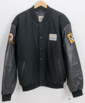 Five Sam Simon Foundation Letterman Jackets