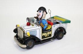 Novelty Police Car No.5, Modern Toys Nomura Brand