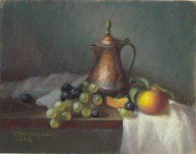 PASTEL ON BOARD RUTH RENINGHAUSE