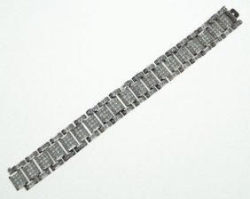 MAGNIFICENT MEN'S DIAMOND BRACELET Over  55CTS