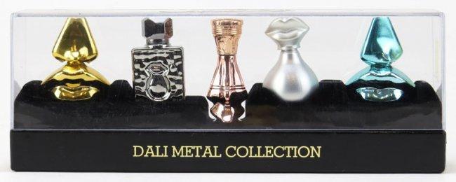 salvador dali dali metal collection miniature perfume lot 79. Black Bedroom Furniture Sets. Home Design Ideas