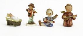 Lot Of Four (4) Goebel Hummel Porcelain Figures. Good C