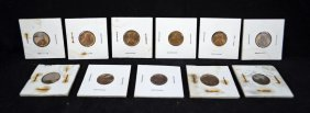 11-1909 Uncirculated V.D.B Lincoln Cents