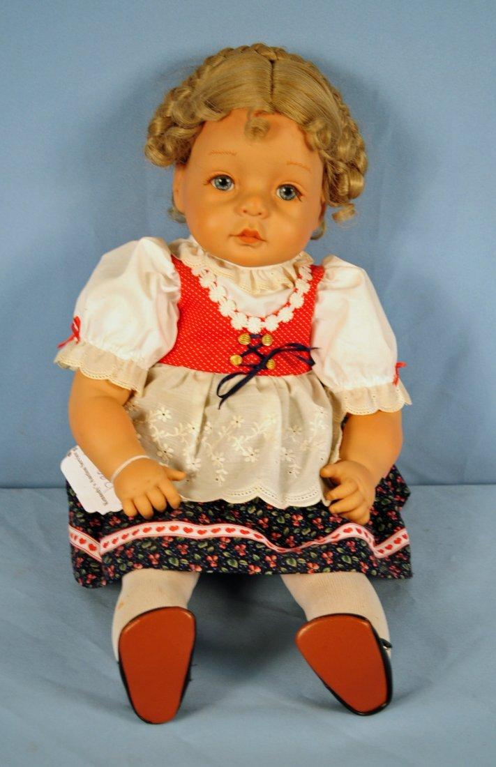 Johannes Zook 22 Inch Artist Original Heidi Doll : Lot 290