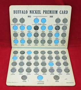 Buffalo Nickel Album 1913 - 1938 D