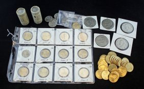 $103.00 Face Value U.s, One Dollar Coins Mixed