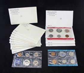 15 U.s. Mint Sets 1965 & 1969 $7.50 40% Silver