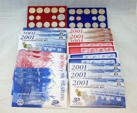 (24) U.s. Mint Uncirculated Coin Sets 1999 - 2008