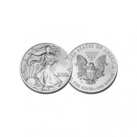Extra Fine Or Better 1oz Silver American Eagle - Random