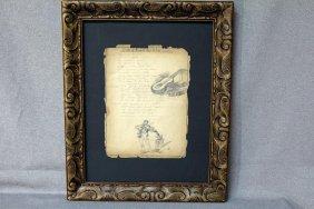 Henri Toulouse Lautrec Pencil On Paper