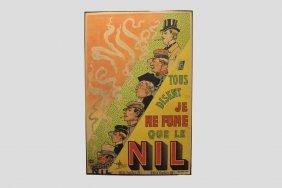 Albert Guillaume Advertising Poster