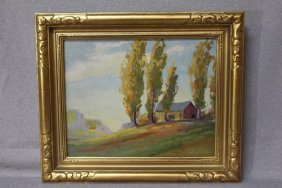 Birger Sandzen Unsigned Painting