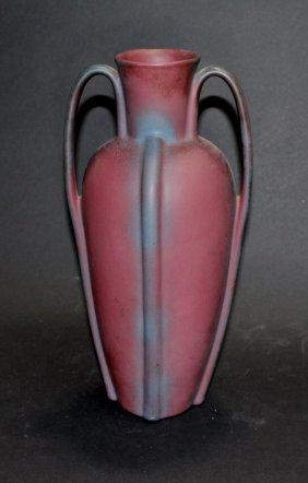 Van Briggle Double Handle Vase