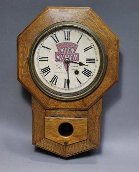 Keen Cutter Advertising Clock