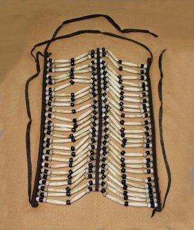 Kiowa Pipe Bone Breast Plate