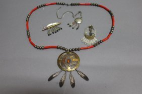 Native American Mitchell Zephier Jewelry
