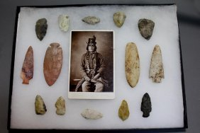 Collection Of 14 Stone Points