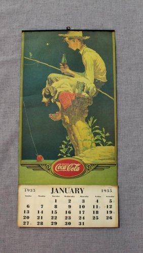 1935 Coca-cola Calendar