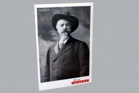 Stetson Hat Poster With Buffalo Bill Cody