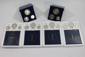 6 U.s. Bicentennial Silver Proof Sets