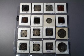 16 Foreign Coins