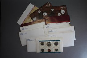 Twelve U.s. Mint Sets