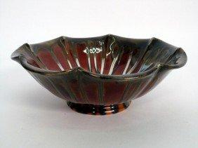 Arts & Crafts Glazed Cermamic Bowl