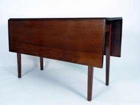 Antique American Drop Side Dining Table