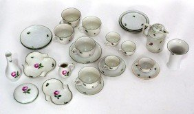 2 Small Sets Of Austrian Porcelain