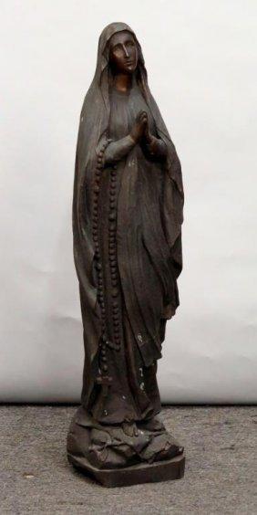 Bronze - Praying Madonna