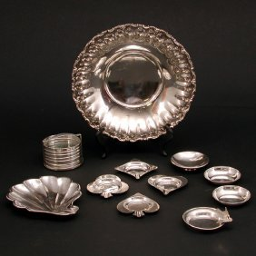 Lot Of Miscellaneous Sterling, 11 Pieces
