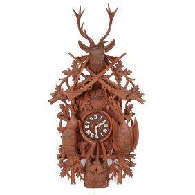 Oversized German Cuckoo Clock, 20th Century