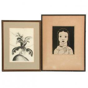 Elsie Jensen Das And Henrietta Shore Prints (2)
