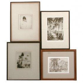 Paeschke, Gyer, Locke, Ryerson, 4 Prints